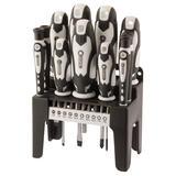 Draper 29896 Screwdriver Set White Handles (21 Piece)