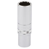 "Draper 32955 Expert 3/8"" Square Drive Hi-Torq 12 Point Deep Socket (14mm)"
