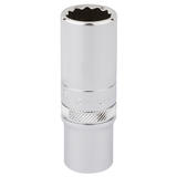 "Draper 32965 Expert 3/8"" Square Drive Hi-Torq 12 Point Deep Socket (15mm)"