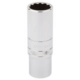 "Draper 32990 Expert 3/8"" Square Drive Hi-Torq 12 Point Deep Socket (16mm)"