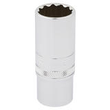 "Draper 33036 Expert 3/8"" Square Drive Hi-Torq 12 Point Deep Socket (19mm)"