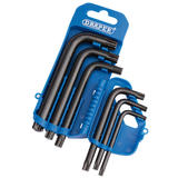 Draper 33737 TX8/6/B 6 Piece TX-STAR Key Set