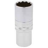 "Draper 33802 HT-MM/B Expert 1/2"" Square Drive Hi-Torq 12 Point Deep Socket (24mm)"