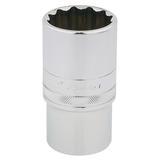 """Draper 33865 HT-MM/B Expert 1/2"""" Square Drive Hi-Torq 12 Point Deep Socket (32mm)"""