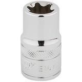 """Draper 34327 TS12/B Expert 1/2"""" Square Drive Tx-Star Socket (E16)"""