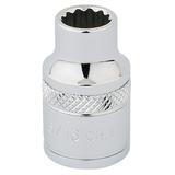"""Draper 49016 D-AF Expert 3/8"""" Square Drive Hi-Torq 12 Point Socket (5/16"""")"""