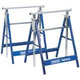 Draper 54053 BT/Y2 Pair of Telescopic Saw Horses or Builders Trestles