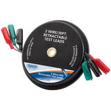 Draper 64766 TLR2/30 Expert 30ft 2 Wire Retractable Test Leads