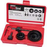 Draper 68470 RL-10HSK Redline Holesaw Kit (11 Piece)