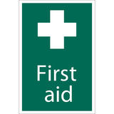 Draper 72534 SS41 First Aid Safety Sign Notice