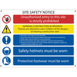 Draper 73019 SS58 Site Safety Notice