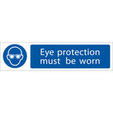 Draper 73085 SS59 Eye Protection  Sign Notice
