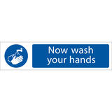 Draper 73157 SS62 Wash Your Hands  Sign Notice