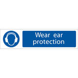 Draper 73158 SS63 Ear Protection  Sign Notice