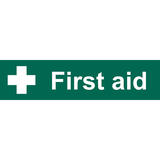 Draper 73263 SS73 First Aid Safety Sign Notice