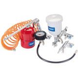 Draper 81508 4315AK Multi Purpose Air Tool Kit (5 Piece)