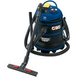 Draper 86685  Expert 35L 1200W 110V M-Class Wet and Dry Vacuum Cleaner