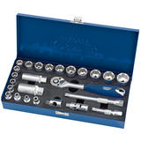 "Draper 89667 D25M/MCA Expert 3/8"" Sq. Dr. Metric Socket Set 25 Pce"