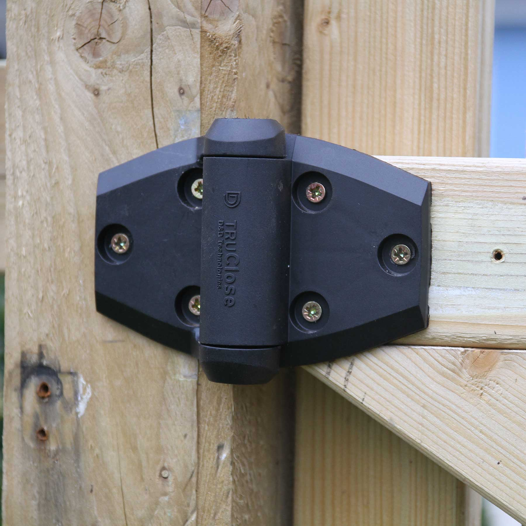 2 X TruClose Self Closing Safety Gate Hinge For Wooden