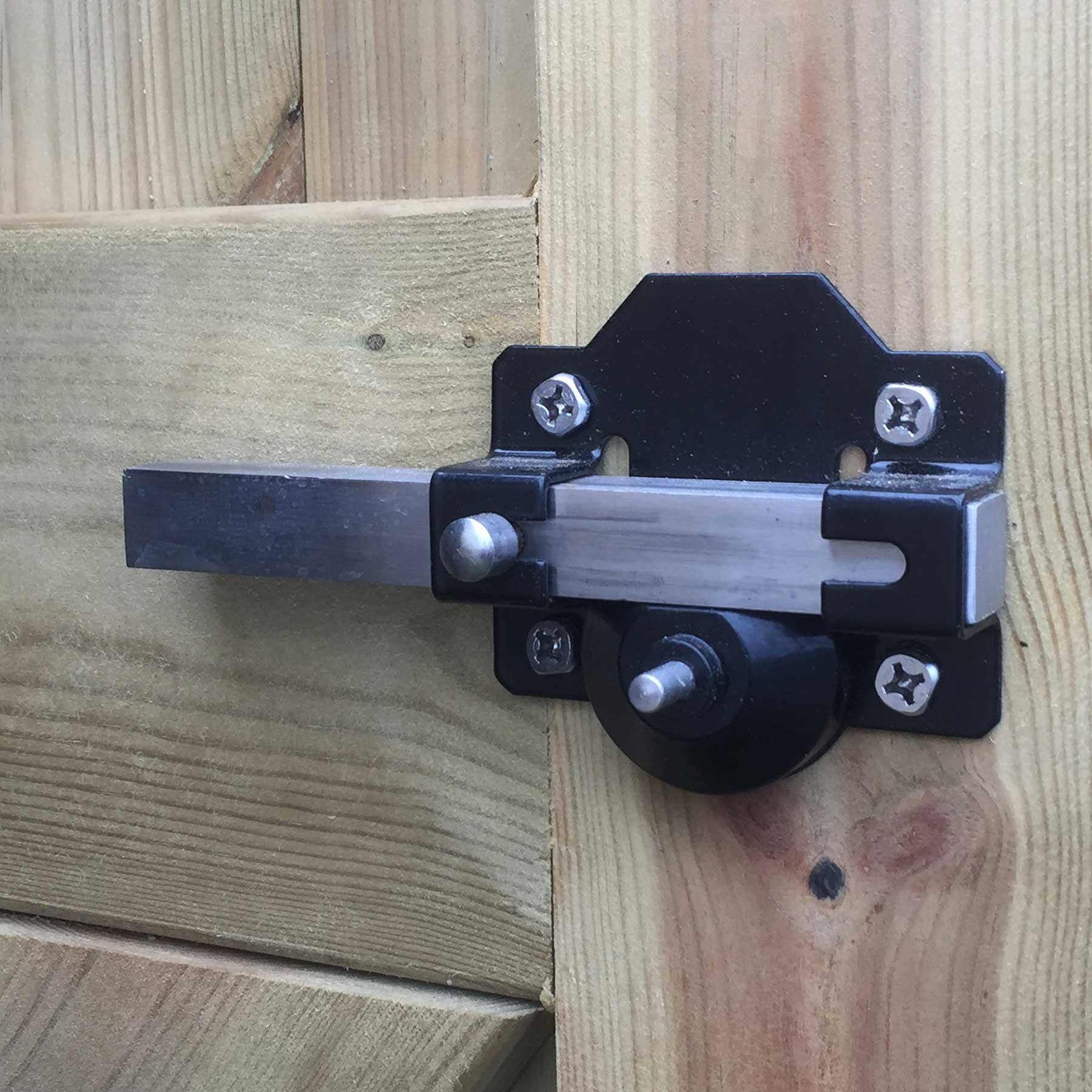 Garden Gate 70mm Rim Lock For Door Driveway Side Shed
