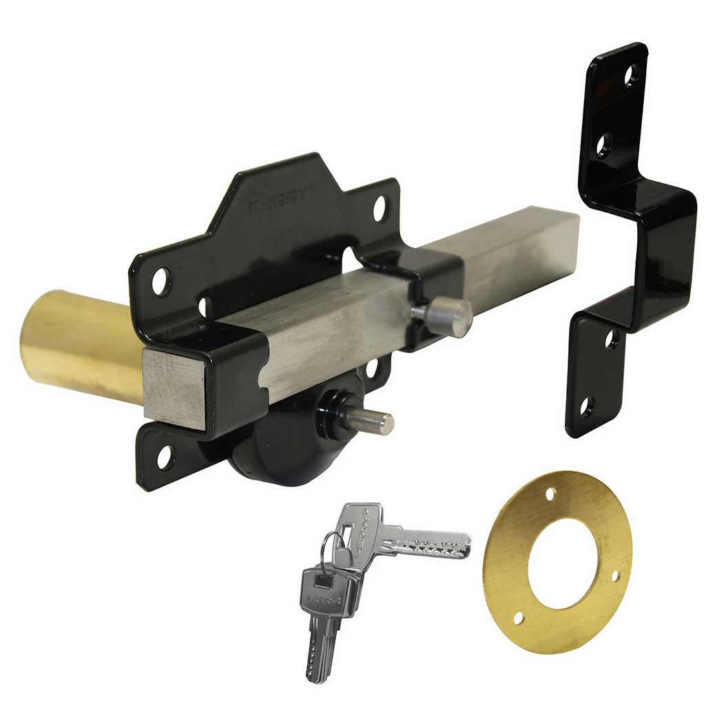 Garden Gate 70mm Rim Lock For Door Driveway Amp Side Shed