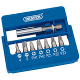 Draper 82391 MBH8 Screwdriver and Magnetic Bit Set (8 Piece)
