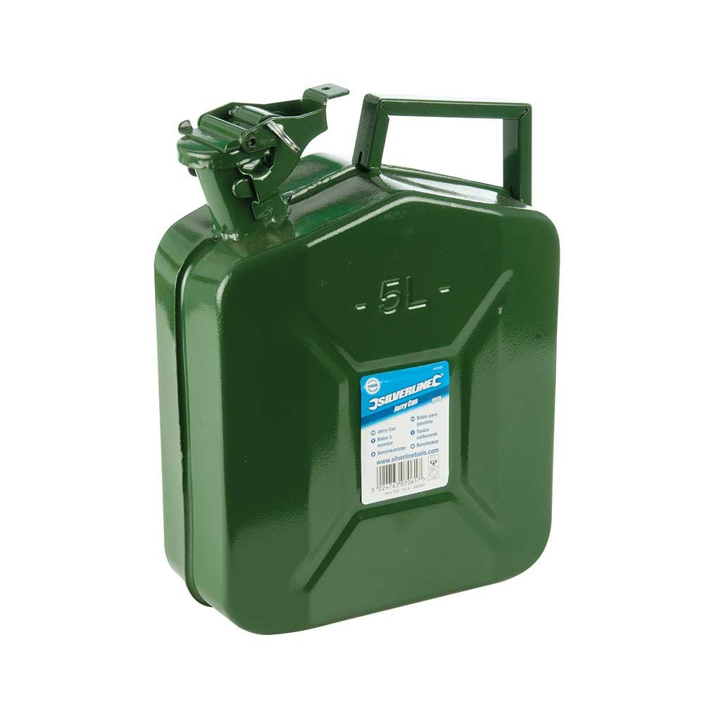 Silverline 342497 Jerry Can 5 Litre