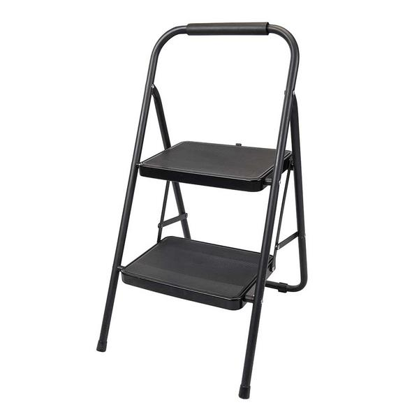 Silverline 226092 Step Ladder 430mm 2-Tread Foldable Steps Thumbnail 3