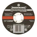Silverline 271797 Heavy Duty Stone Cutting Disc Flat 115 x 3 x 22.23mm