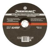 Silverline 272328 Heavy Duty Metal Grinding Disc Depressed 230 x 6 x 22.23mm