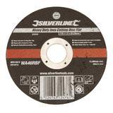 Silverline 272787 Heavy Duty Inox Cutting Disc Flat