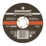 Silverline 273266 Heavy Duty Metal Cutting Disc Flat 125 x 3 x 22.23mm