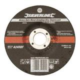 Silverline 275173 Heavy Duty Metal Grinding Disc Depressed