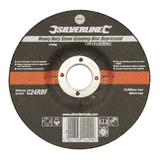 Silverline 276483 Heavy Duty Stone Grinding Disc Depressed