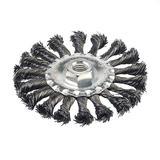 Silverline 656640 Twist-Knot Wheel 115mm