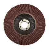 Silverline 783102 Aluminium Oxide Flap Disc 100mm 80 Grit