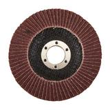Silverline 792089 Aluminium Oxide Flap Disc 115mm 80 Grit