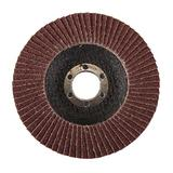 Silverline 793761 Aluminium Oxide Flap Disc 115mm 60 Grit