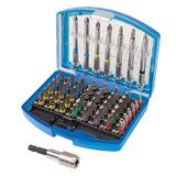 Silverline 846154 Colour-Coded Bit Set (56 Piece)