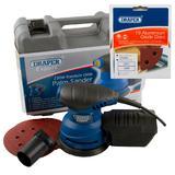 Draper Expert Random Orbit Palm Sander with Ten 320G Sanding Discs