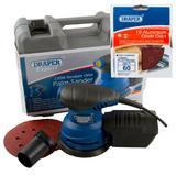 Draper Expert Random Orbit Palm Sander with Ten 60G Sanding Discs