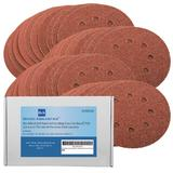 40 Bond Abrasives Sanding Discs For Bosch PEX 220/300 Random Orbital Sander 125mm Assorted Grit