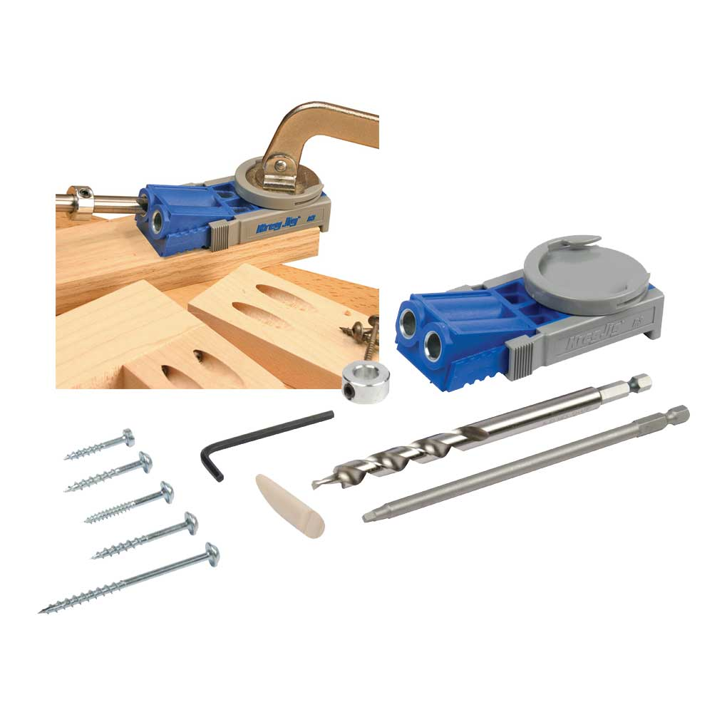 Kreg junior r3 pocket hole jig wood kit woodwork joint free categories solutioingenieria Images