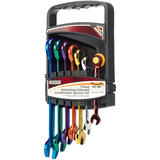 Draper 15394 8230MM/7/CL Ratcheting Coloured Spanner Set (7 Piece)