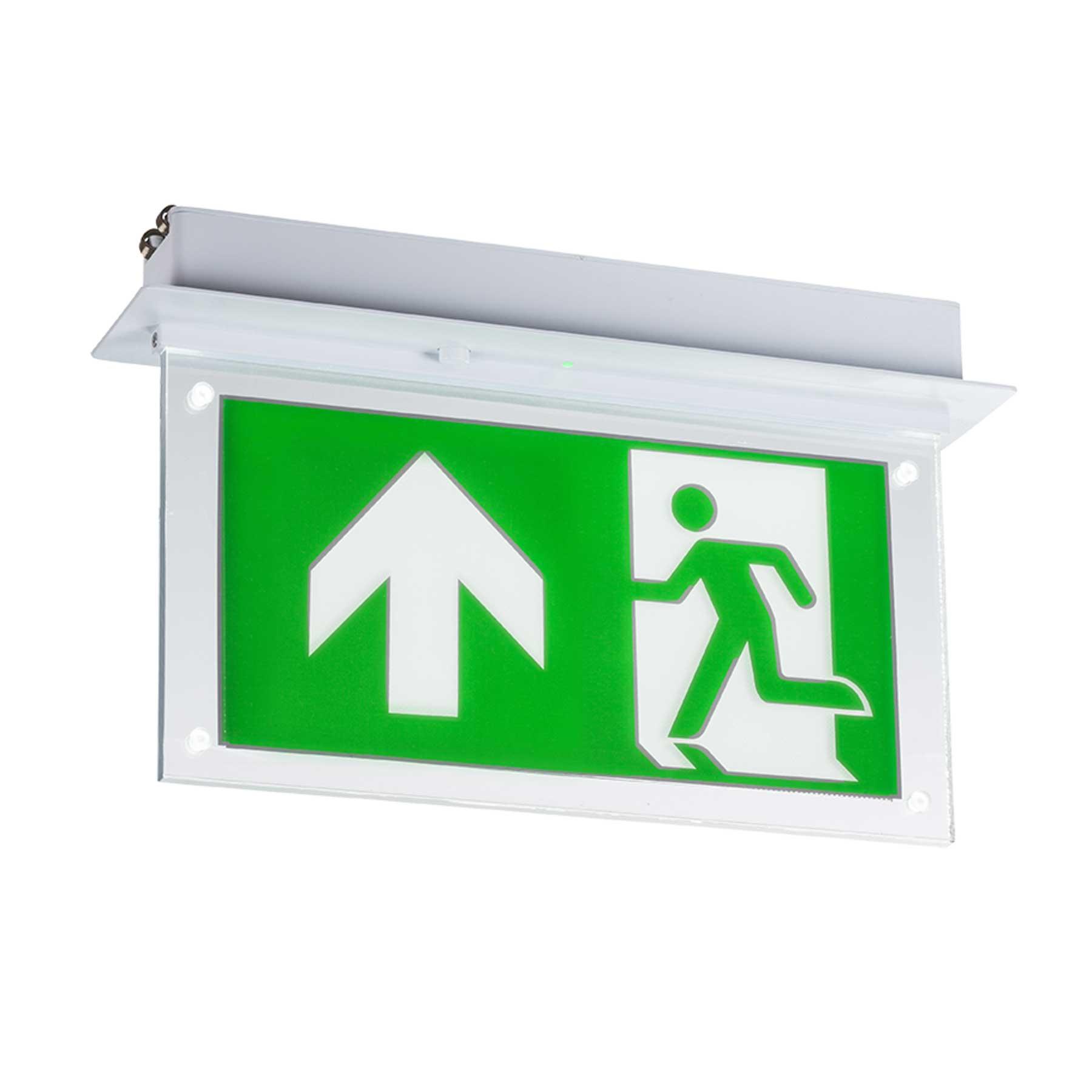 Knightsbridge Emlrec 230v 2w Recessed Led Emergency Exit