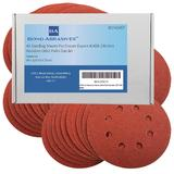 40 Bond Sanding Discs For Draper 41458 Random Orbit Palm Sander 120 Grit
