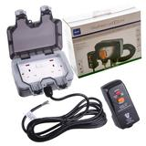 Masterplug Weatherproof Outdoor Mains Power Kit Nexus WP22KIT/3-01