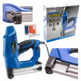 Draper Storm Force Electric Stapler/Nailer Kit 230V with 5000 Extra 19mm Staples