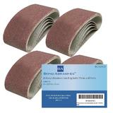 20 x Bond Abrasives Power Tool Sanding Belts 75mm x 457mm 120 Grit (Fine)