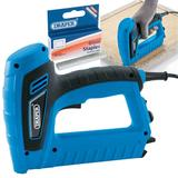 Draper Mains Electric Stapler/Nailer/Tacker Gun Kit & Extra 6mm Staples (1000)